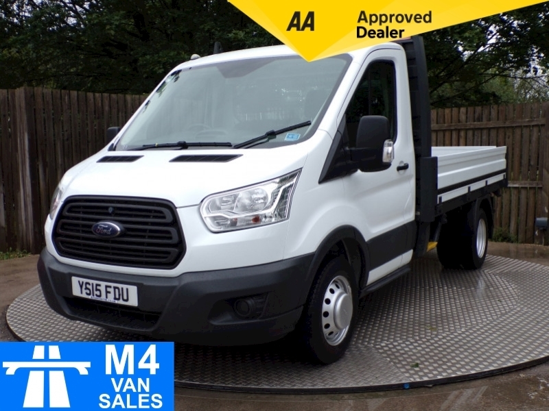 Ford Transit 350 DROPSIDE TWIN REAR WHEELS MWB 10'6 BED Image 1