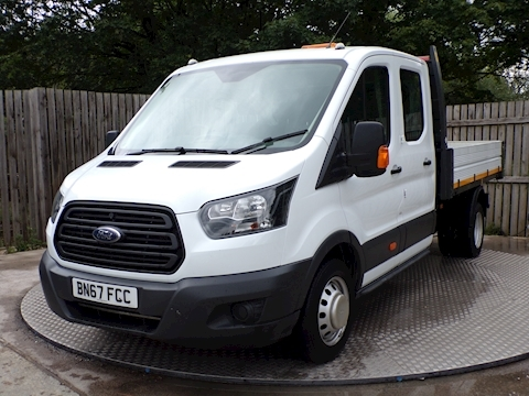 Transit 350 CREWCAB 1 STOP BODY Tipper 2.0 Manual Diesel
