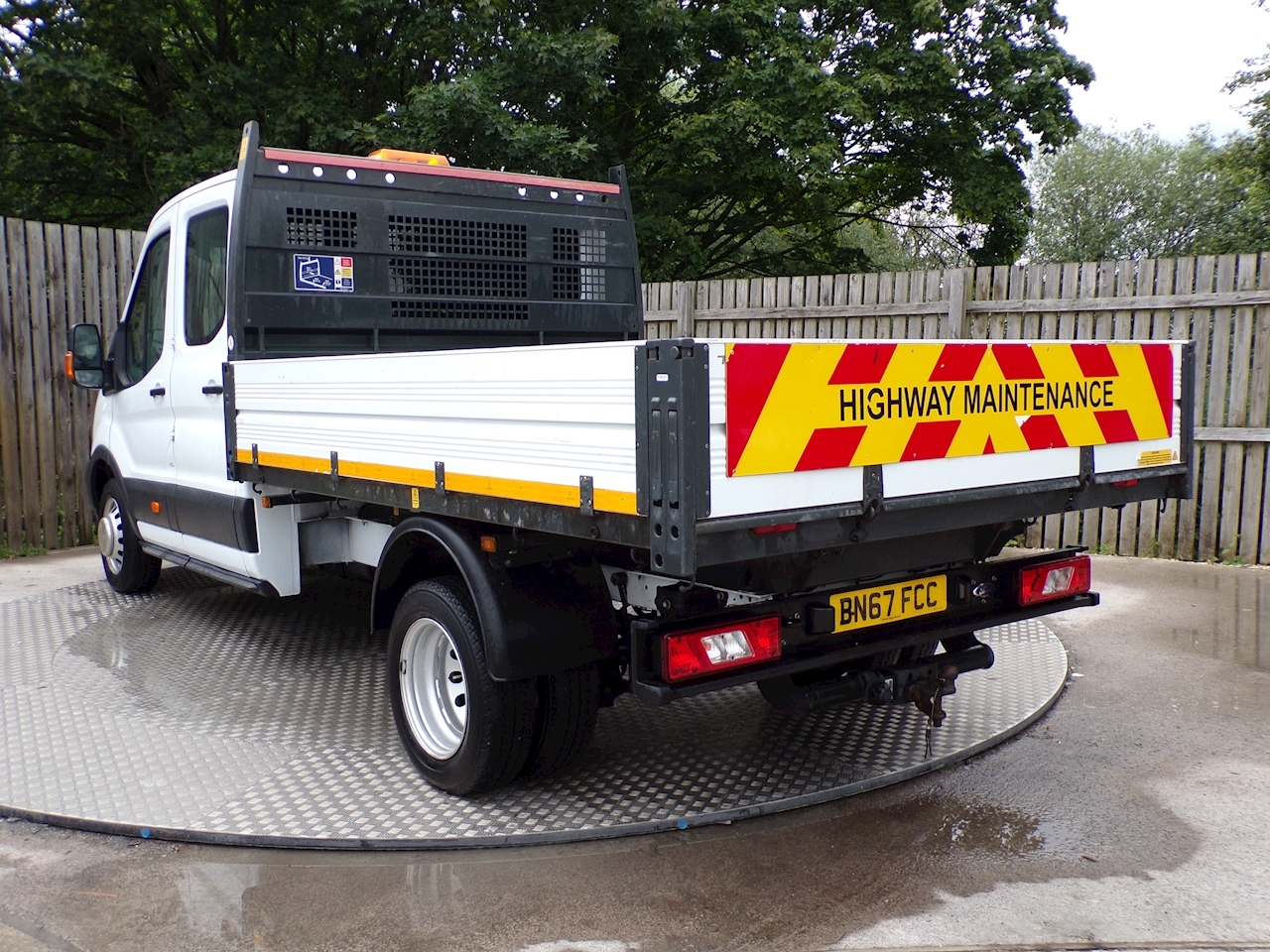 Ford Transit 350 CREWCAB 1 STOP 9FT 3