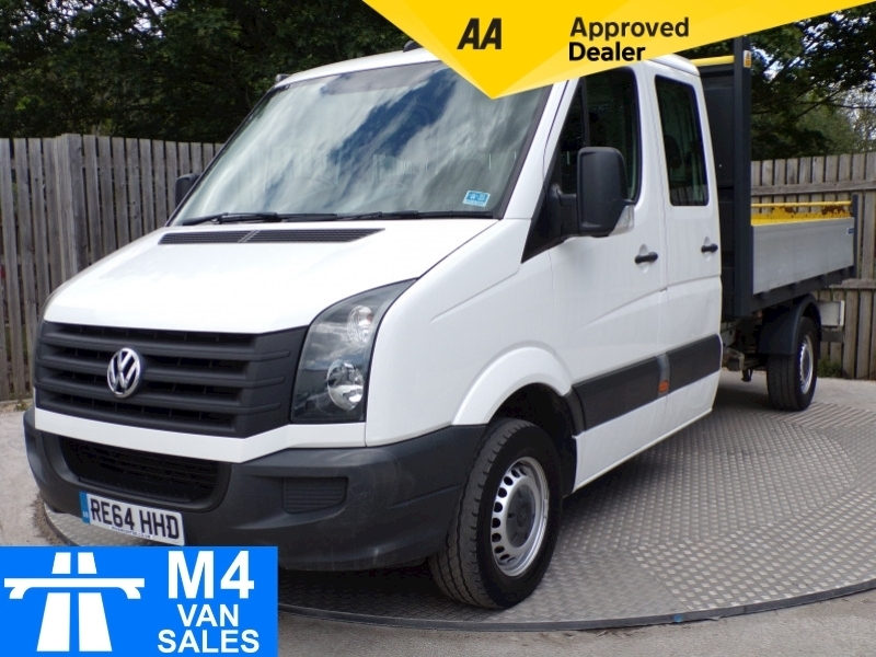 Volkswagen Crafter CR35 TDI D/C TIPPER 109PS Image 1