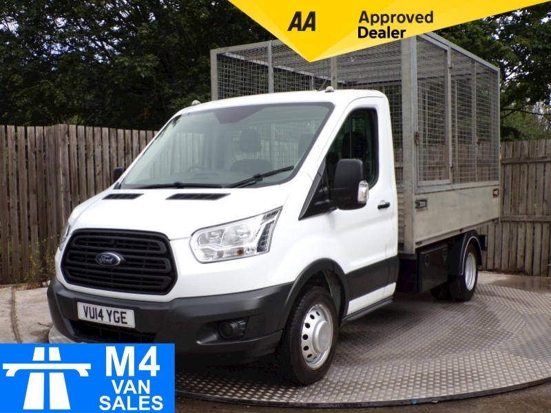 Ford Transit 350 ALLOY CAGED TIPPER 10FT 6