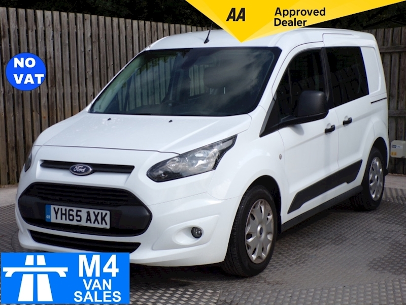 Ford Transit Connect Trend Crewvan L1 **NO VAT** Image 1
