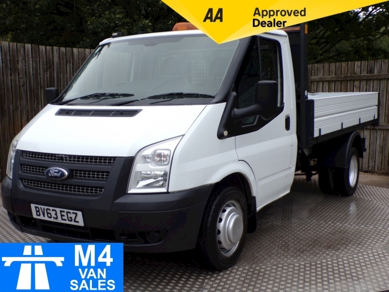 Ford Transit 350 C/C 1 STOP BODY TIPPER TWIN WHEELER Image 1