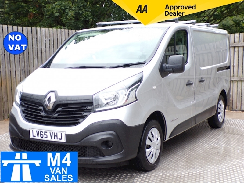 Trafic Sl27 Business Energy Dci Panel Van 1.6 Manual Diesel