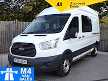 Ford Transit 350 High roof  crew van 9 seater - Thumb 0