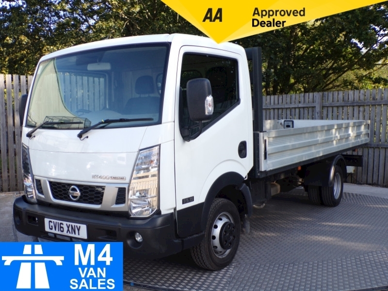 Nissan Nt400 Cabstar Dci 35.15 Dropside 14ft 9