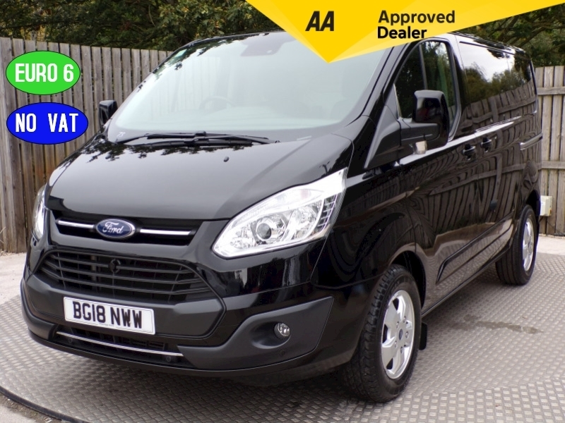 Ford Transit Custom 270 Limited L/R ** NO VAT**  EURO 6 Image 1