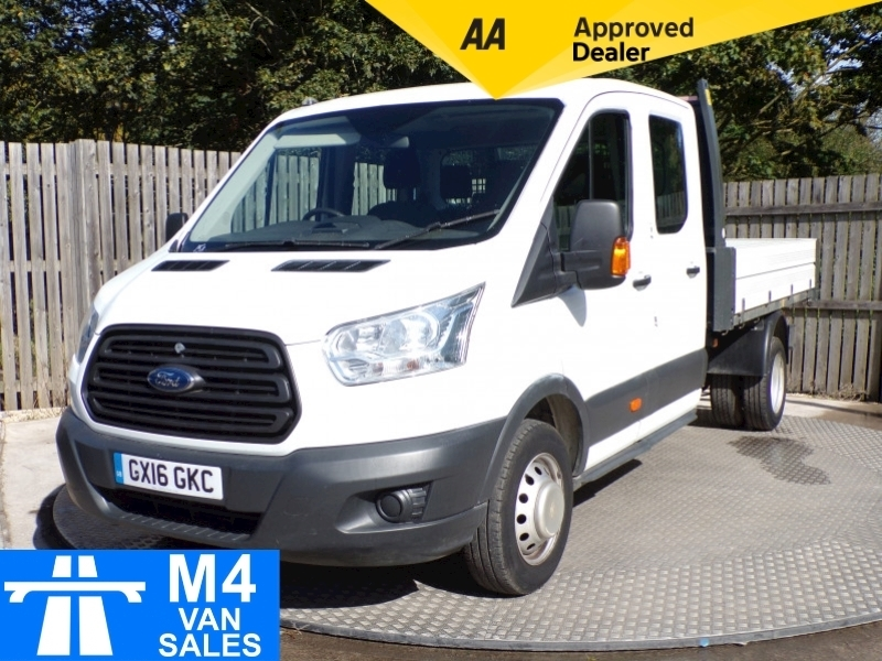 Ford Transit 350 crewcab tipper 1 stop body 9FT 4