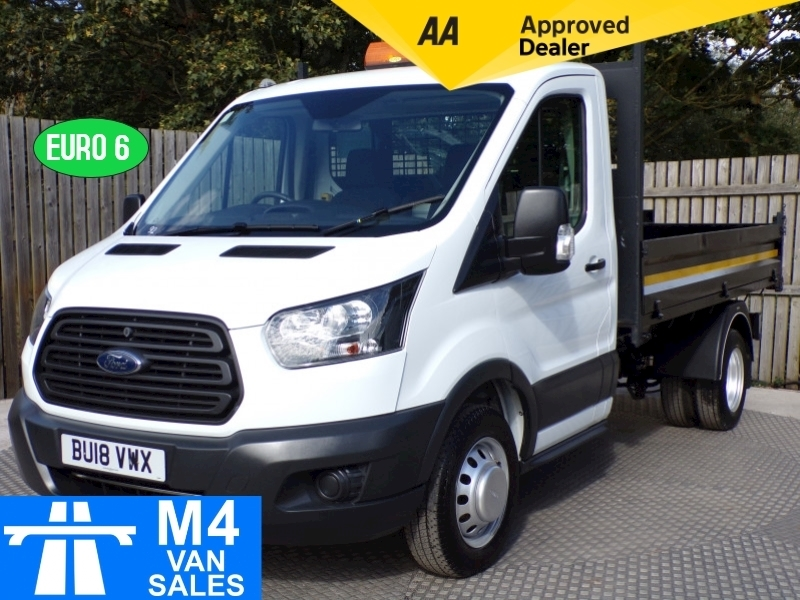 Ford Transit 350 L2 MWB TIPPER STEEL BODY 130PS EURO 6 L=10FT 4