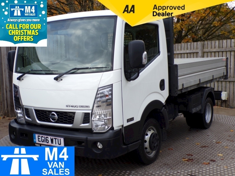 Nissan Nt400 Cabstar Dci 35.14 Tipper SWB 10ft 1