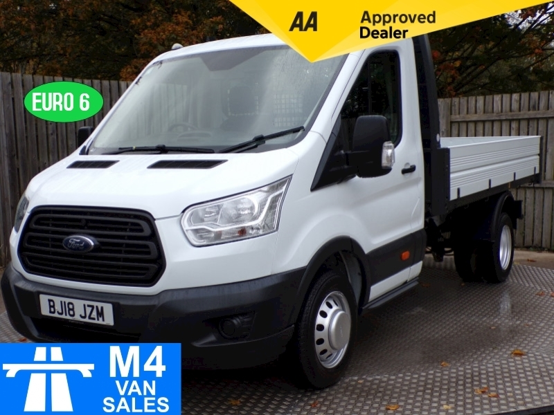 Ford Transit 350 C/C 1 STOP BODY TIPPER W = 7ft L = 10ft 6