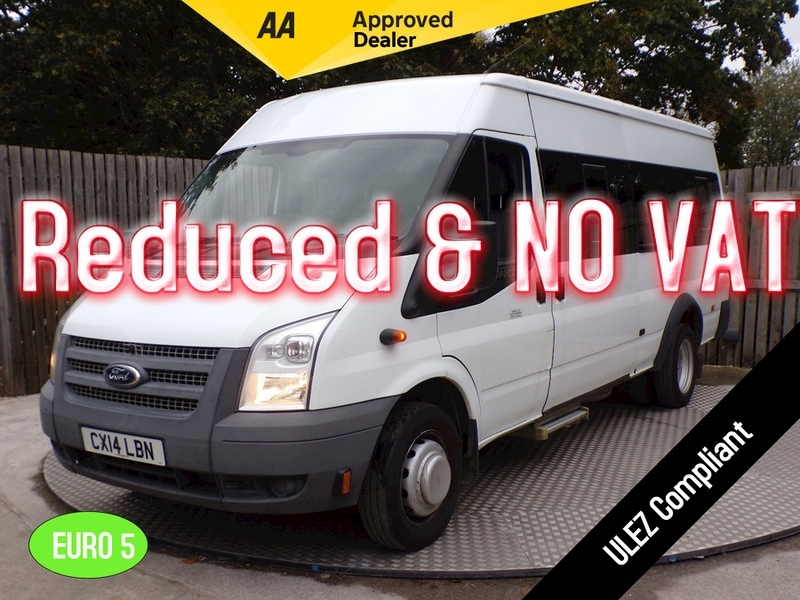 Ford Transit 15 Seats Wheelchair Access Image 1