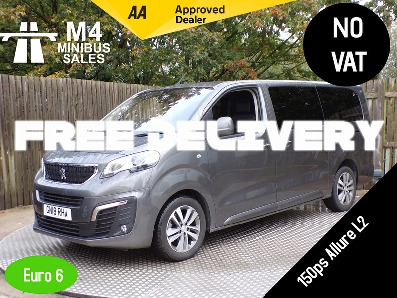 Peugeot Traveller Blue Hdi Allure Long Image 1