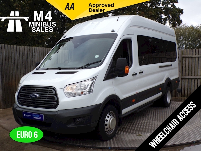 Ford Transit 460 Trend 16 Seat Wheelchair Access Image 1