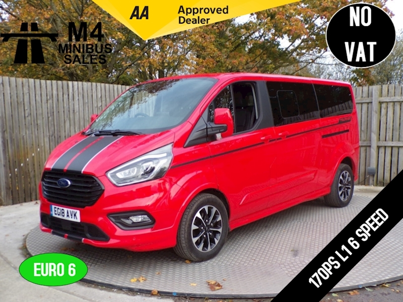 Ford Tourneo Custom 310 Sport Rare L2 170ps Image 1