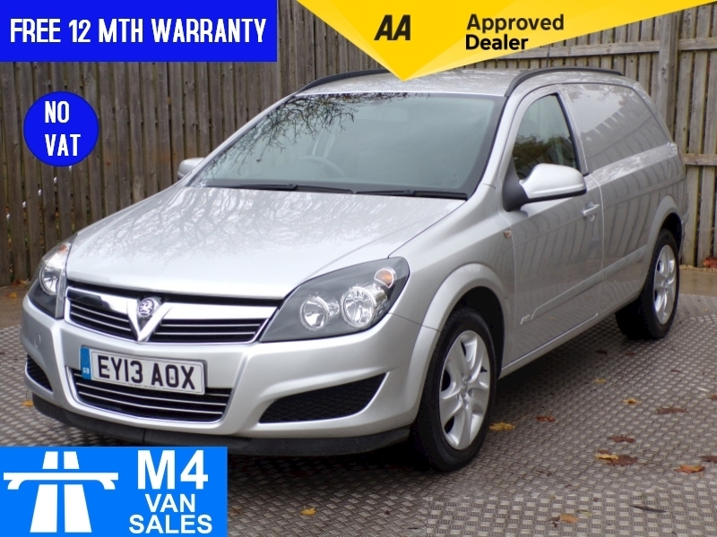 Vauxhall Astra SPORTIVE 1.7 CDTI WITH A/C **NO VAT** Image 1