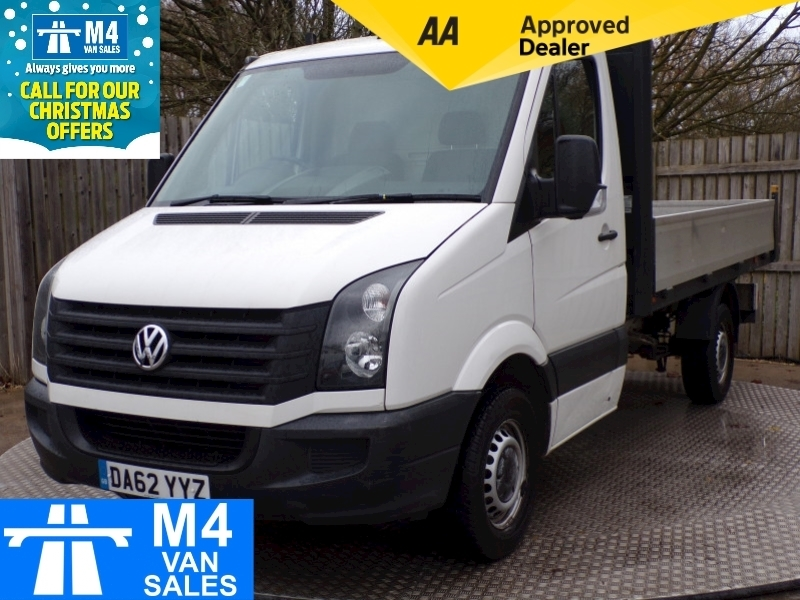 Volkswagen Crafter Cr35 Tdi 109 MWB Dropside Image 1