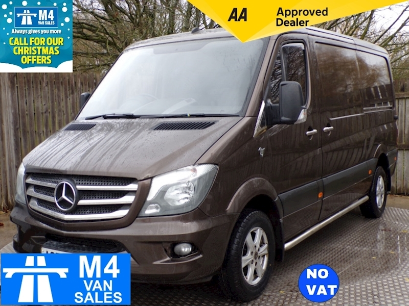Mercedes-Benz Sprinter 216 Cdi MWB Low Roof **NO VAT** Image 1
