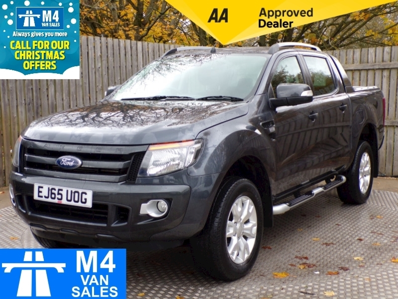 Ford Ranger Wildtrak 3.2 4X4 DOUBLE CAB TDCI AUTO WITH A/C Image 1