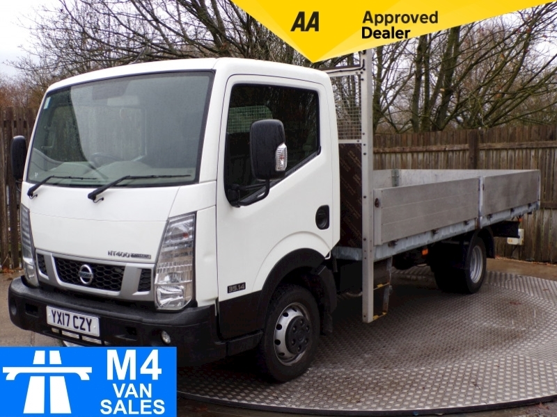 Nissan Nt400 Cabstar Dci 35.14 Dropside 15FT Double Alloy Image 1