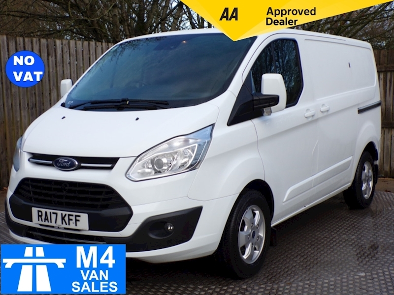 Ford Transit Custom 270 Limited L/R  A/C **NO VAT** Image 1