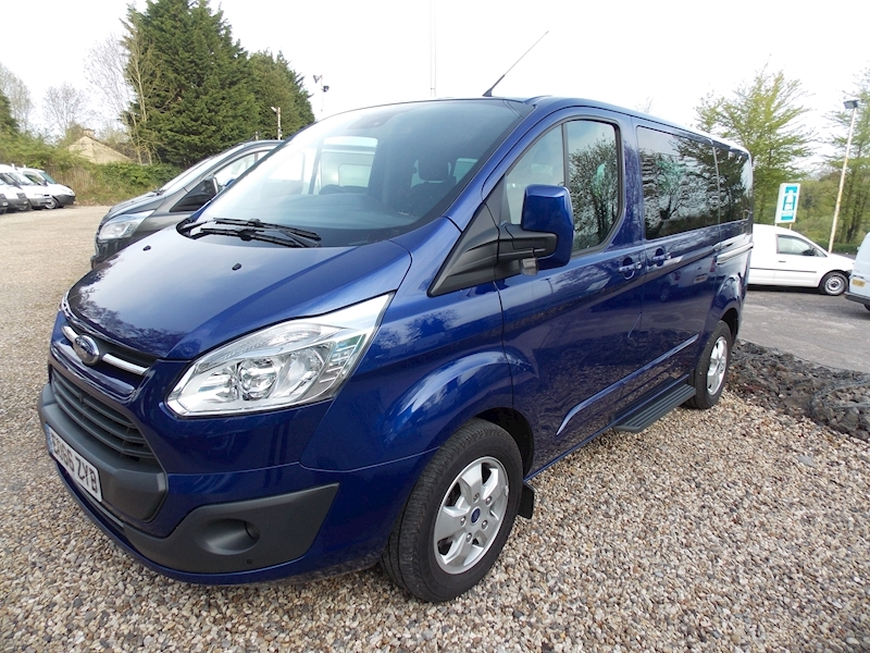 Ford Tourneo Custom 9 Seater Image 1