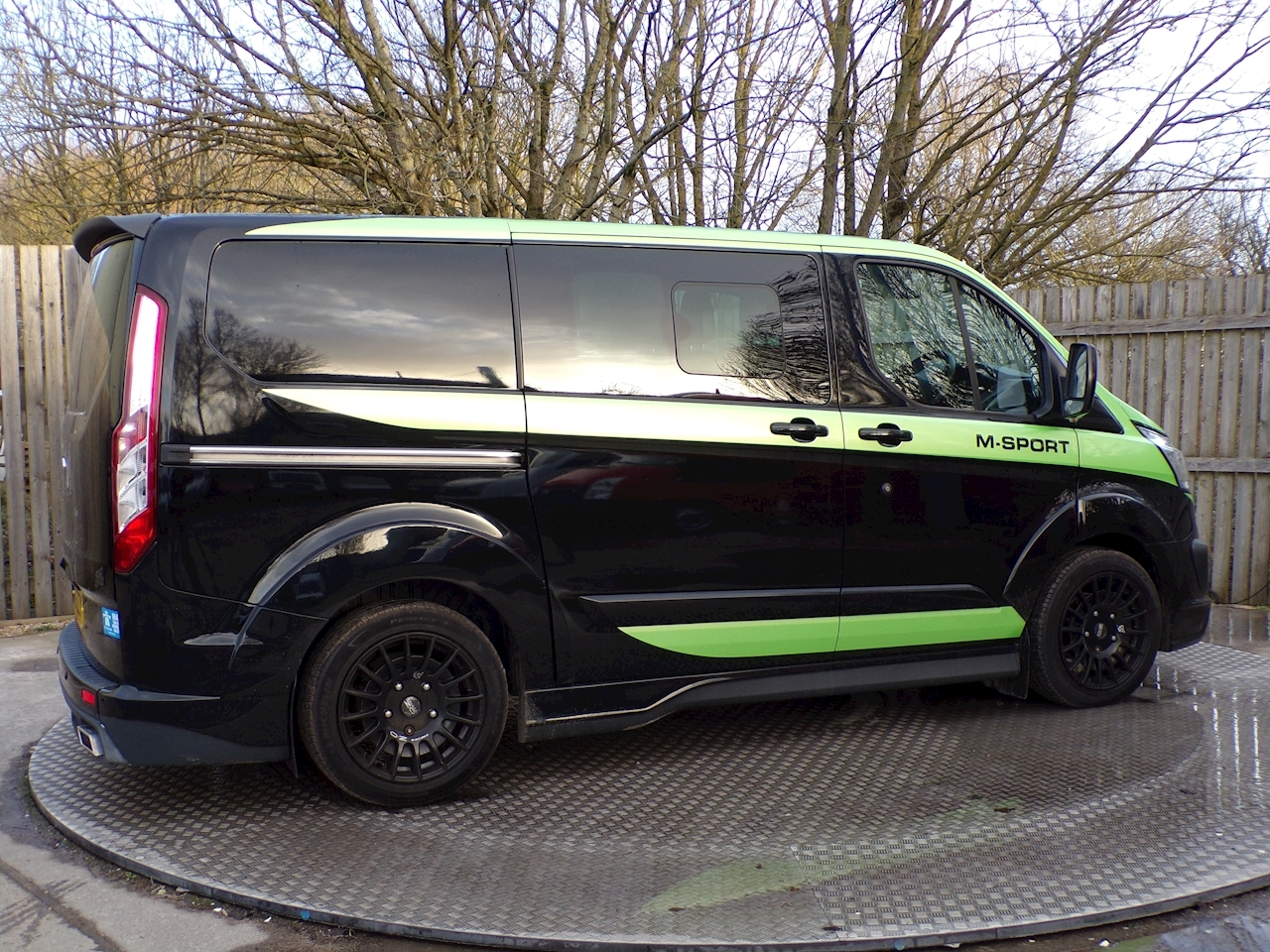 Ford Transit Custom 290 Limited L/R D/C MS-RT SPORT 155BHP