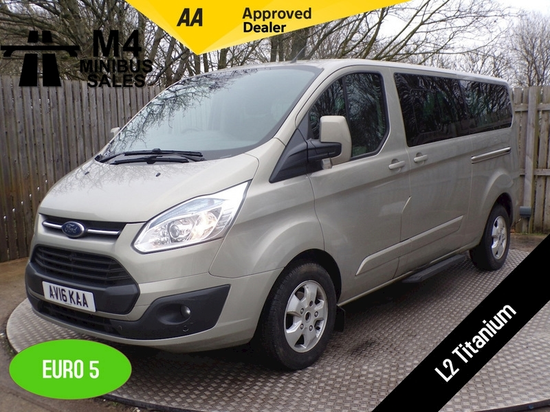 Ford Tourneo Custom 300 L2 Titanium 9 Seater Image 1