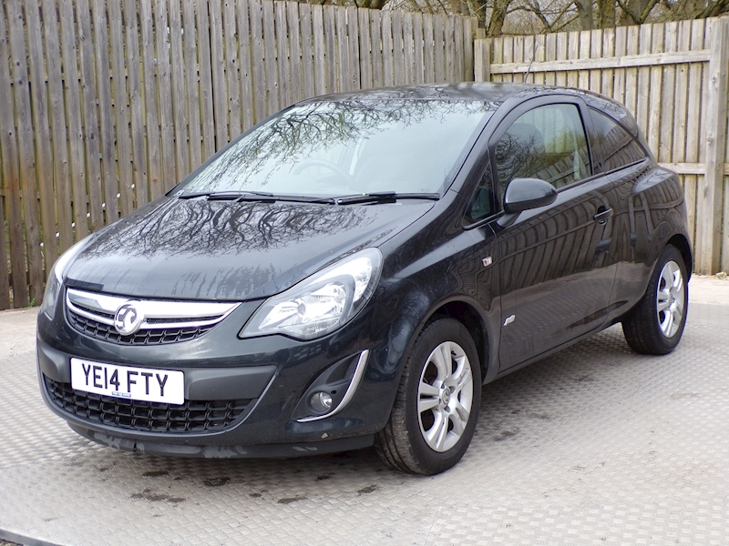 Vauxhall Corsa SPORTIVE CDTI WITH A/C NO VAT Image 1