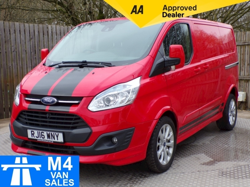 Ford Transit Custom 290 Sport SWB with A/C Image 1