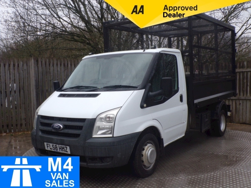 Ford Transit 350 Mwb Caged Tipper 100 Image 1