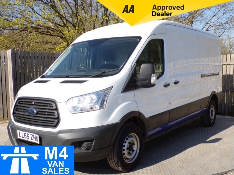 Ford Transit 350 LWB medium roof with A/C Image 1