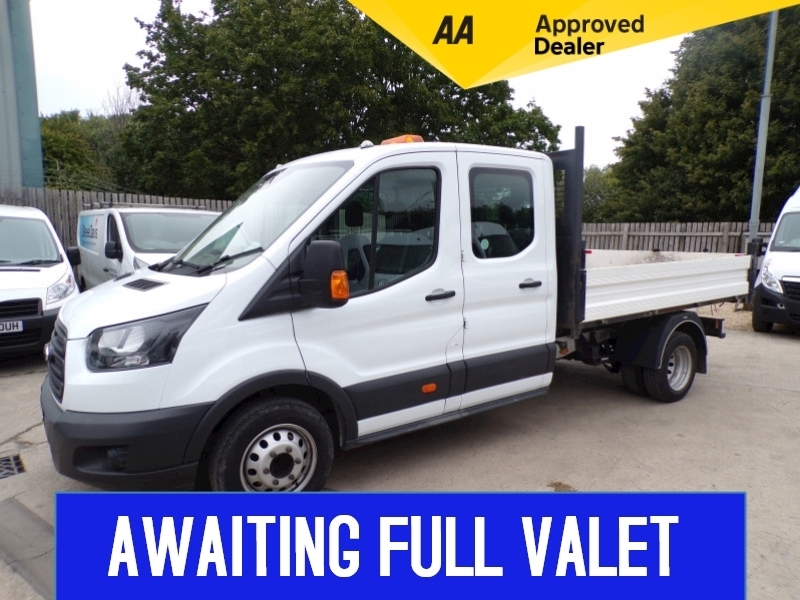 Ford Transit 350 L3 H2 C/C Tipper 1 Stop Body **EURO 6** Image 1