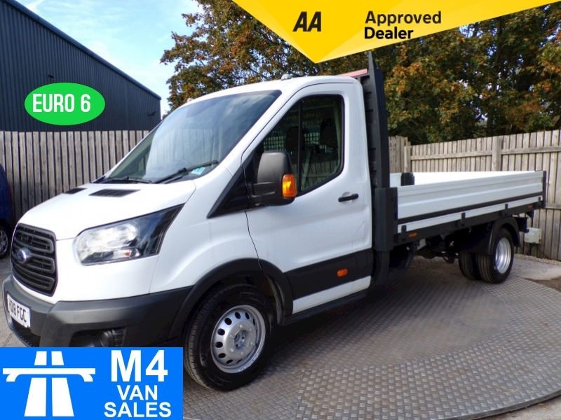 Ford Transit 350 LWB Dropside 1Stop Body 130ps Image 1
