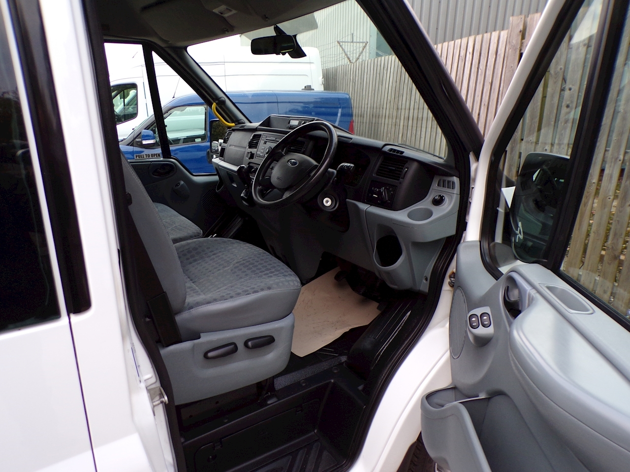 Ford Transit 17 seat PSV Tested