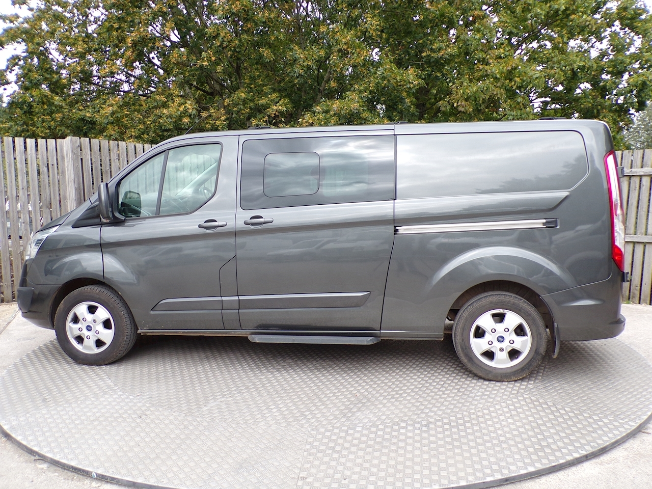 Ford Transit Custom LTD LWB Crewvan Euro 6 A/C