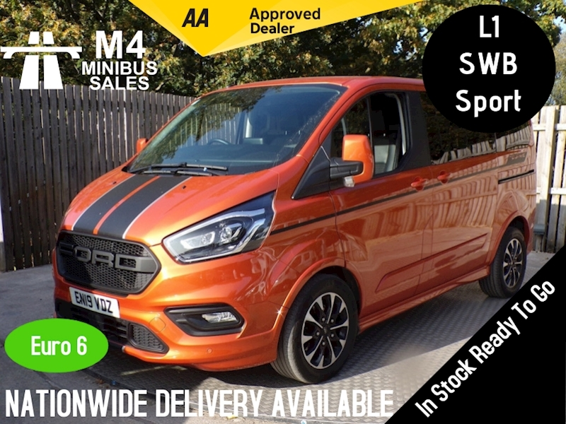Ford Tourneo Custom Sport 8 Seater Automatic Leather A/C Image 1