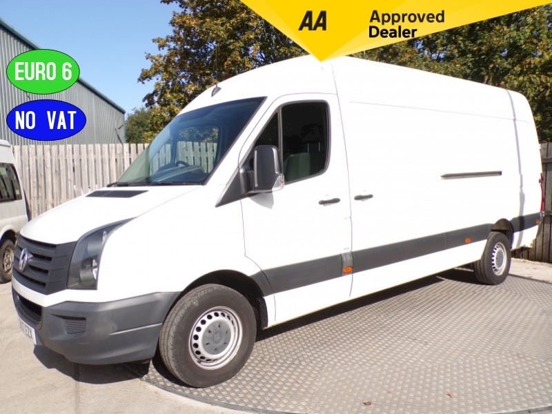 Volkswagen Crafter CR35 LWB TDi High Roof Euro 6 **NO VAT** Image 1