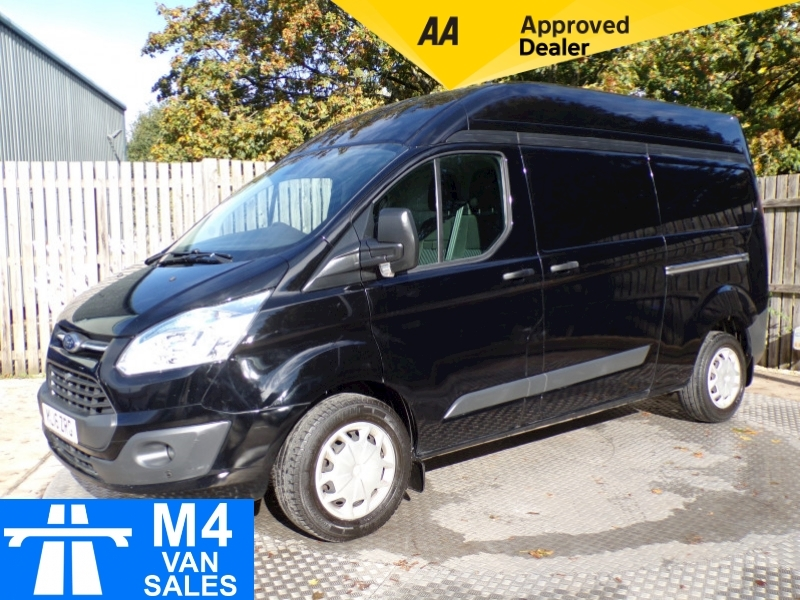 Ford Transit Custom LWB High Roof 125ps A/C Image 1