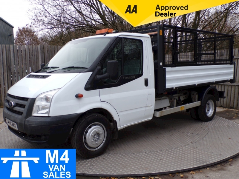 Ford Transit 350 SINGLE CAB TIPPER  1 STOP BODY TACHO Image 1