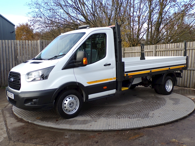 Ford Transit 2.0 350 LWB Dropside Euro 6 12ft 1