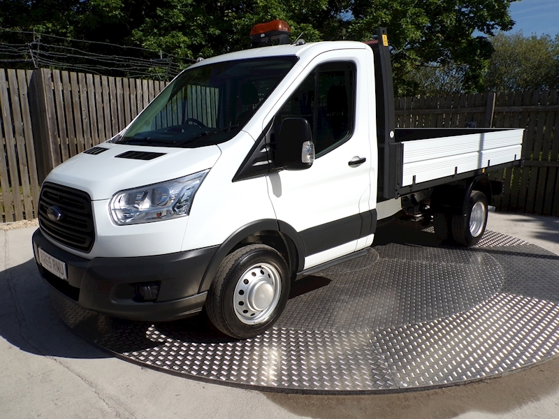 Ford 350  Transit 350 S/C TIPPER NEW SHAPE Image 1