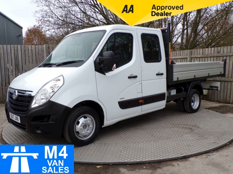Vauxhall Movano 2.3 CDTi 3500 Tipper 10FT2