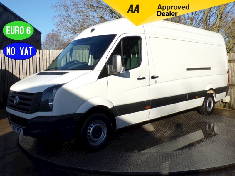 Volkswagen Crafter CR35 LWB High Roof Euro 6 **NO VAT** Image 1