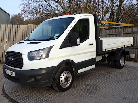 Transit 2.0 350 Single Cab Tipper 1 Stop Body