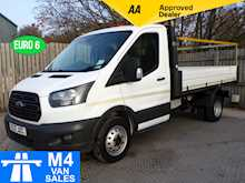 Ford Transit 2.0 350 Single Cab Tipper 1 Stop Body Euro 6 - Thumb 0
