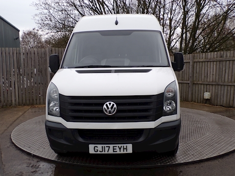 Crafter CR35 LWB High Roof Van 2.0 Manual Diesel