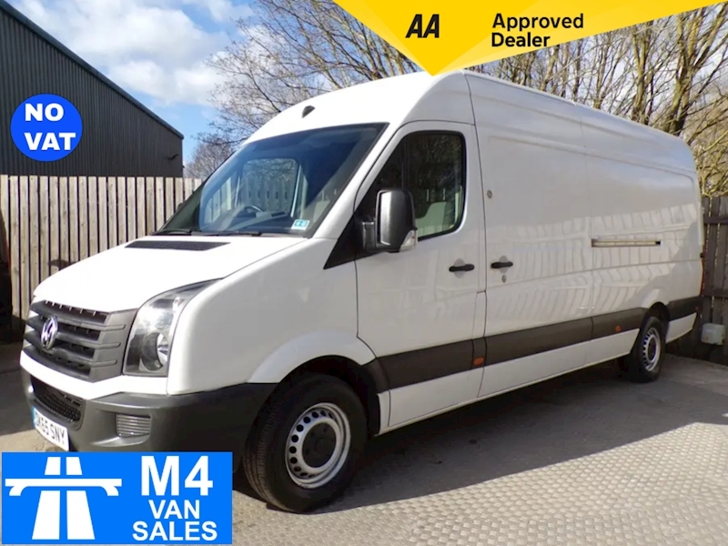 Volkswagen Crafter CR35 LWB High Roof  A/C NO VAT Image 1