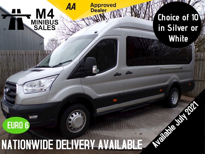 Ford Transit 460 EcoBlue Leader ONLY 1756 Miles COC Image 1