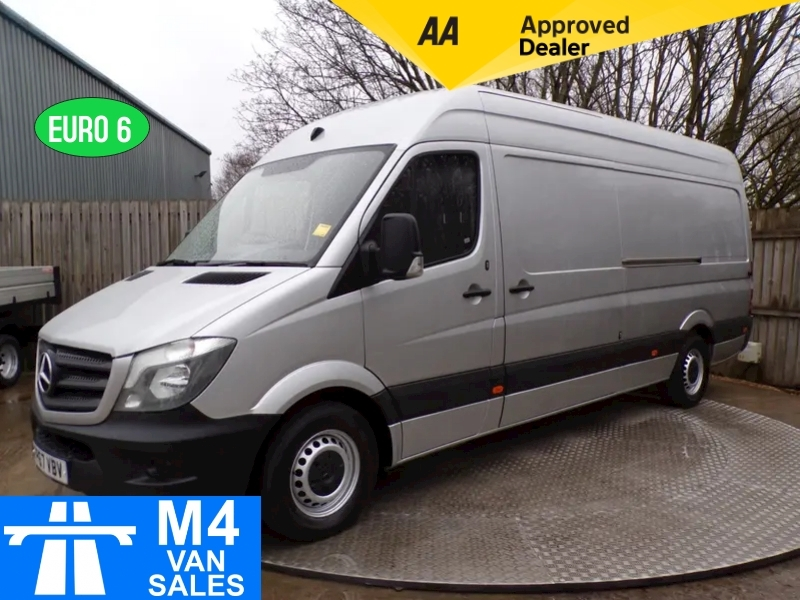 Mercedes Sprinter CDI 314 LWB HIGH ROOF A/C EURO 6 Image 1